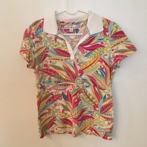 Tommy Hilfiger Short Sleeve Collared Shirt M